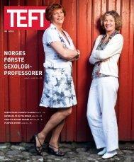 norges første sexologi- professorer - Universitetet i Agder
