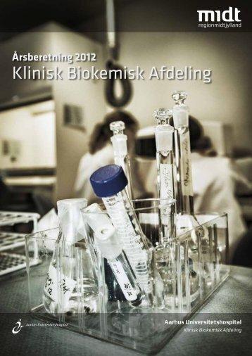 Årsberetning 2012 - Aarhus Universitetshospital