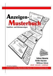 Anzeigenmusterbuch [PDF-Format, 15 MB] - Gießener Allgemeine