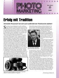 Erfolg mit Tradition (Fortsetzung von Seite 1)