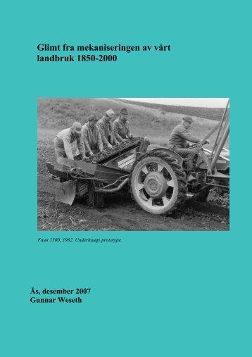 Mekaniseringen-av-landbruket - UMB