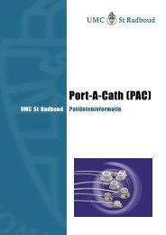 Port-A-Cath (PAC) - UMC St Radboud