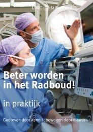 Beter worden in het Radboud! - UMC St Radboud