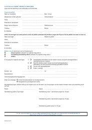 Formulier kopie medisch dossier - UMC Utrecht