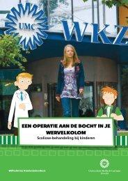 een operatie aan de bocht in je wervelkolom - UMC Utrecht