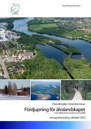 Antagandehandling för älvlandskapet - Umeå kommun