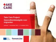 Take Care Project: Gezondheidstaalgids voor migranten