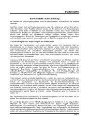 Ausschreibung 2008 - Umweltbundesamt