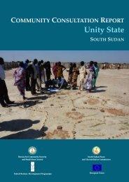 rebel militia groups (RMGs) - United Nations Development Programme