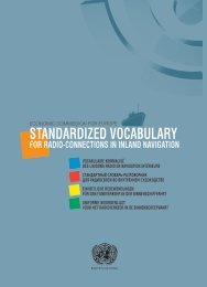 standardized vocabulary for radio-connections in inland ... - UNECE