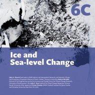 Ice and Sea-level Change - UNEP
