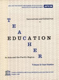 Teacher Education in Asia and the Pacific Region - Unesco