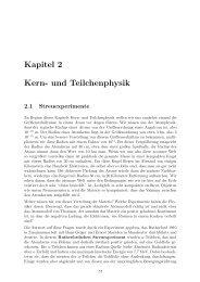 Kapitel 2 Kern- und Teilchenphysik
