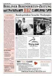 Inkontinenz - Berliner Behindertenzeitung