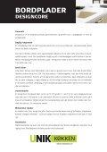 Pleje og vedligeholdelse - Unik Køkken - Page 4