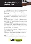 Pleje og vedligeholdelse - Unik Køkken - Page 5