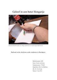 scriptie uiteindelijke versie swaan-3 - United Academics