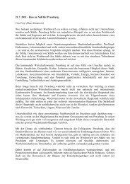 21.7. 2011 - Eins zu Null für Pressburg Von Prof. Klaus Emmerich ...