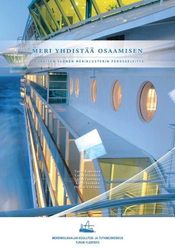 Meriklusteriraportti (pdf 5,6 Mb) - Turku