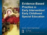 Evidence-Based Practice in Early Intervention/Early Childhood ...