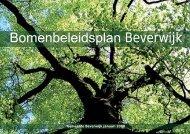 Bomenbeleidsplan Beverwijk - Leiedal