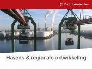 Presentatie 6 juni - Havenbedrijf Amsterdam