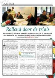 Rollend door de trials - TI Pharma