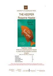 Download Teachers' Notes - University of Queensland Press