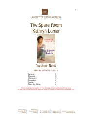 The Spare Room Kathryn Lomer - University of Queensland Press