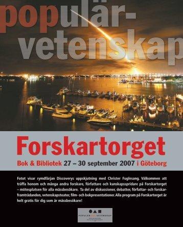 Bok & Bibliotek 27 – 30 september 2007 i Göteborg - Ur