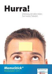 MemoStick® Musterbeispiele - Schwäbisches Tagblatt