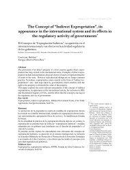 """The Concept of """"Indirect Expropriation"""" - Universidad Sergio Arboleda"""