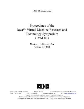 Dynamic Type Checking in Jalapeño - Usenix