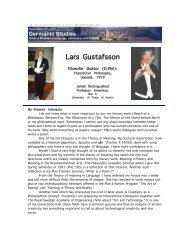 Lars Gustafsson - The University of Texas at Austin