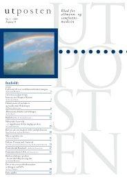 1. utgave av Utposten 2005 (PDF-format)