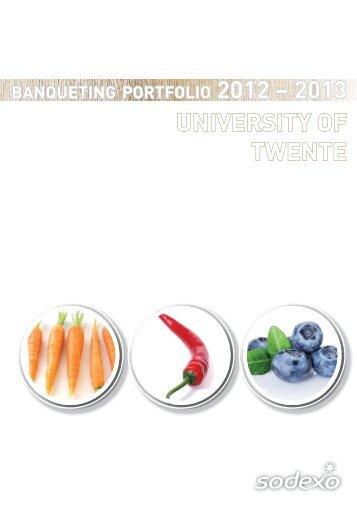 Lunches - Universiteit Twente