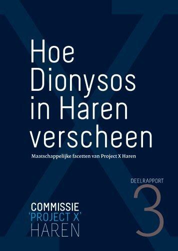 Deelrapport 3: Hoe Dionysos - Universiteit Twente