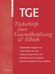 Tijdschrift voor Gezondheidszorg & Ethiek