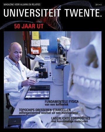 Relatiemagazine UT, 2011, nr 2 - Universiteit Twente
