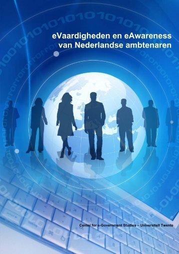 eVaardigheden en eAwareness van Nederlandse ambtenaren