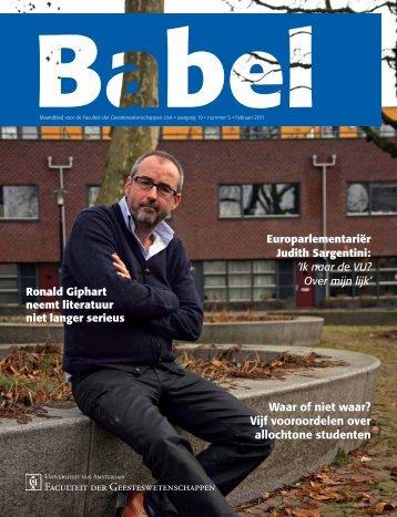 Babel - Universiteit Utrecht
