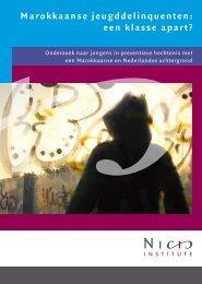 Marokkaanse jeugddelinquenten: een klasse apart? - Universiteit ...