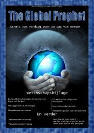 The Global Prophet - Universiteit Utrecht