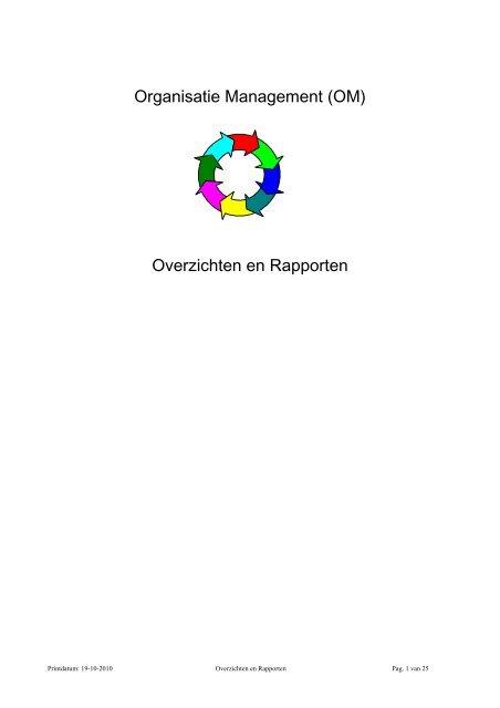 Organisatie Management (OM)