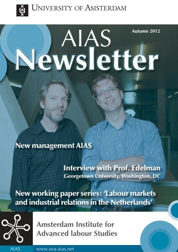 AIAS newsletter Autumn 2012 TW.indd