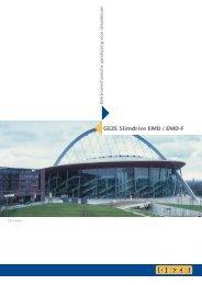 GEZE Slimdrive EMD / EMD-F - V3S Glass Systems