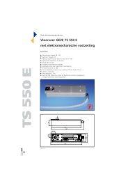 Vloerveer GEZE TS 550 E met elektromechanische vastzetting TT ...