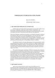 En torno a la lexicografía y terminología vascas - Uzei