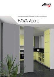 HAWA-Aperto - V3S Glass Systems