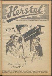 Herstel (1945) nr. 17 - Vakbeweging in de oorlog